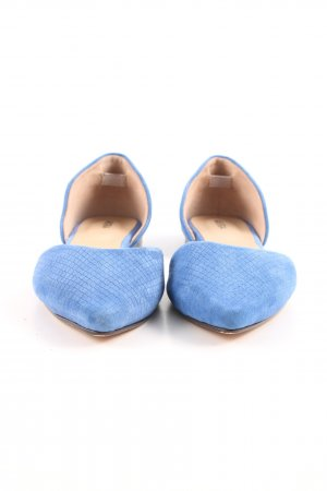 Akira Pointed Toe Pumps blue casual look