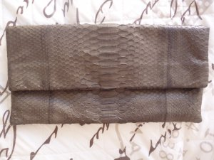 Akkesoir Envelope Clutch Schlangenleder 32x16x1 cm