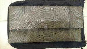 Akkesoir Envelope Clutch Tasche Leder Python Schlangenleder