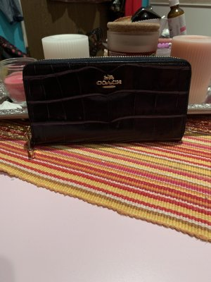 Coach Wallet black leather