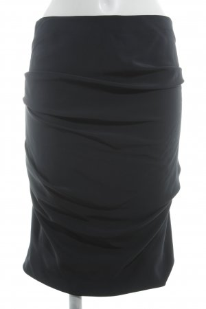 Akris Asymmetry Skirt anthracite elegant