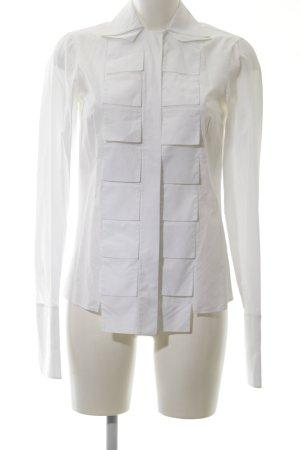 Akris Blouse-chemisier blanc style d'affaires