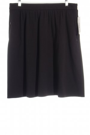 Akris High Waist Rock schwarz Elegant