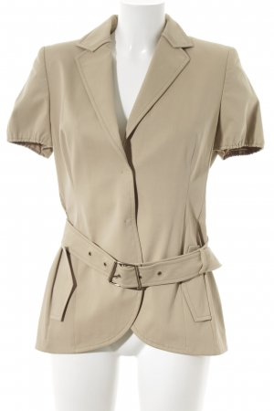 Akris Kurz-Blazer creme-beige Business-Look