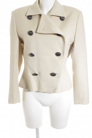 Akris Short Coat cream elegant