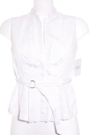 Akris punto Sleeveless Blouse white elegant
