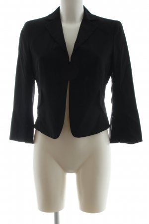 Akris punto Short Blazer black casual look