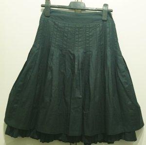 Akris punto Midi Skirt dark green cotton