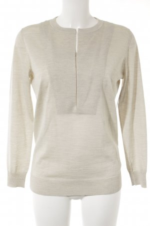 Akris punto Kraagloze sweater room casual uitstraling