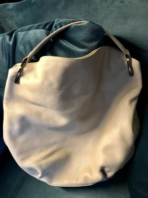Akris Shopper XXL Leder Creme top