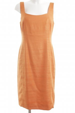 Akris Pinafore dress light orange elegant