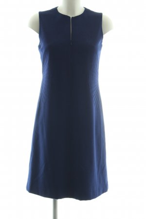 Akris Woolen Dress blue business style