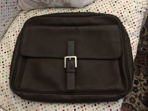 Esprit Laptop bag black brown