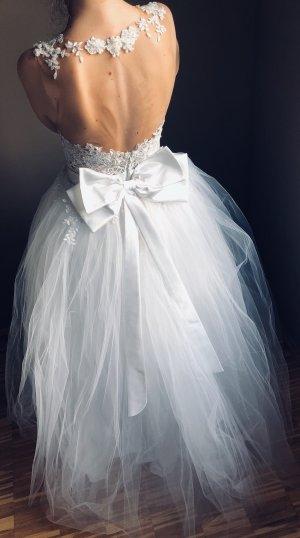 Wedding Dress white silk