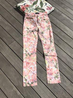 Woman by Tchibo Pantalon cinq poches multicolore coton