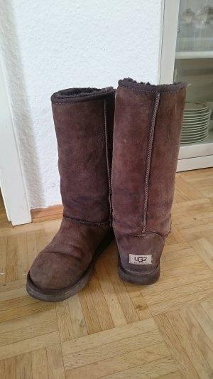UGG Boots Classic High Braun