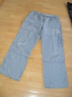 Brax Pantalon bleu azur lin