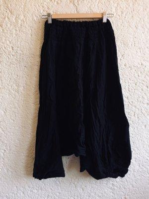 Harem Pants black cotton