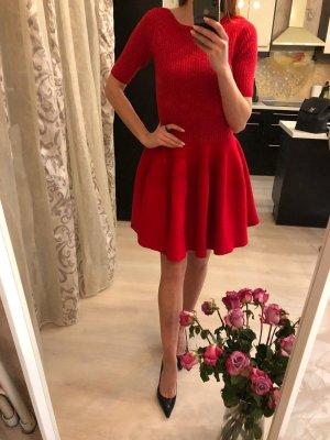Alaïa Stretch jurk rood