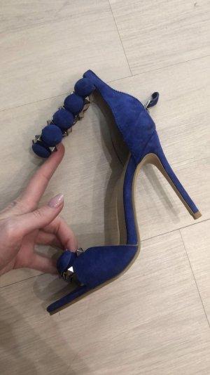 Alaïa Tacco alto blu scuro-blu