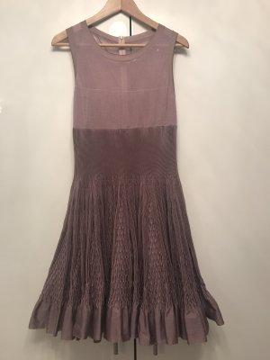 Alaïa A Line Dress mauve