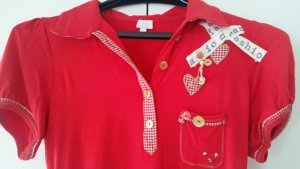 Alba Moda Polo Shirt brick red