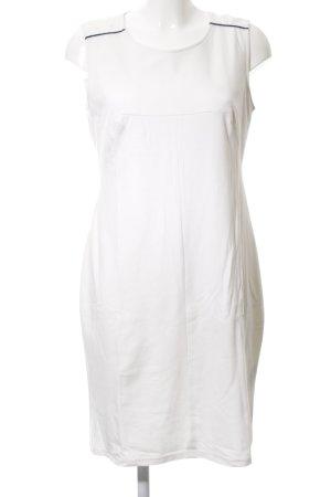 Alba Moda Kokerjurk wit casual uitstraling