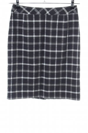 Alba Moda Pencil Skirt black-white check pattern business style