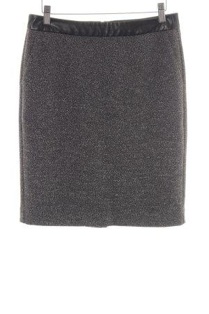 Alba Moda Falda de tubo negro-blanco estilo «business»
