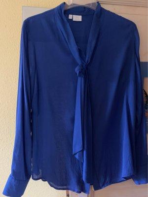 Alba Moda Blusa-camisa azul