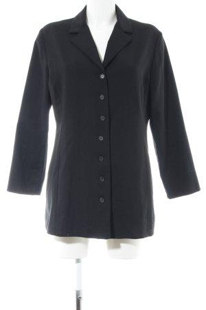 Alba Moda Blousejack zwart zakelijke stijl