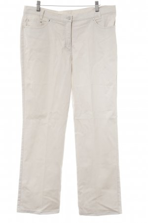 Alba Moda Boot Cut Jeans hellbeige Casual-Look
