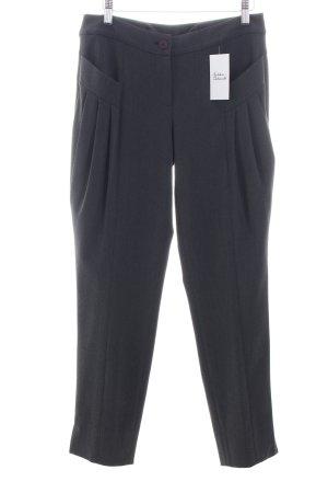 Alba Moda Bundfaltenhose grau klassischer Stil