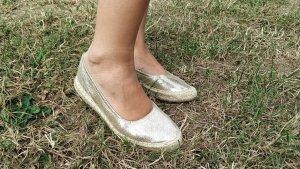 Alba moda Espandriles Gr. 38 gold
