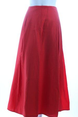 Alba Moda Faltenrock rot Eleganz-Look