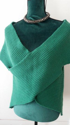 Alba Moda Camicia maglia blu cadetto-verde bosco