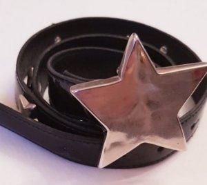 Alba Moda Gürtel mit Sternen in schwarz