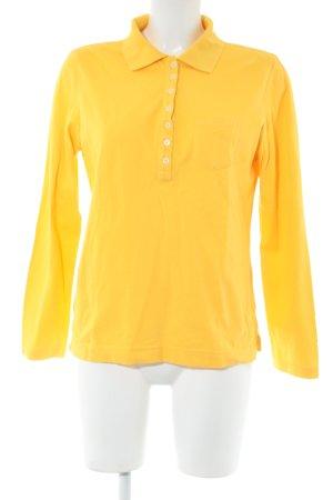 Alba Moda Camicia blusa giallo pallido stile casual