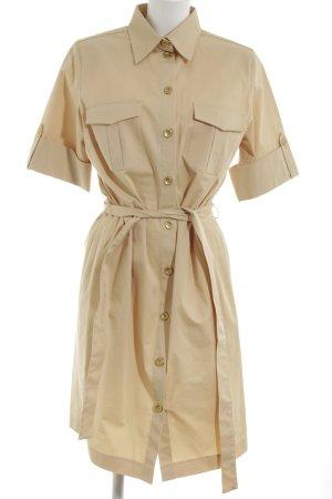 Alba Moda Vestido tipo blusón crema look casual