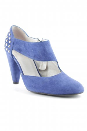Alba Moda High Heels blau Party-Look