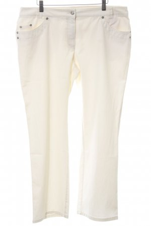 Alba Moda Hoge taille jeans wolwit casual uitstraling