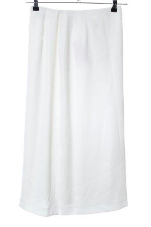 Alba Moda Gonna a vita alta bianco elegante