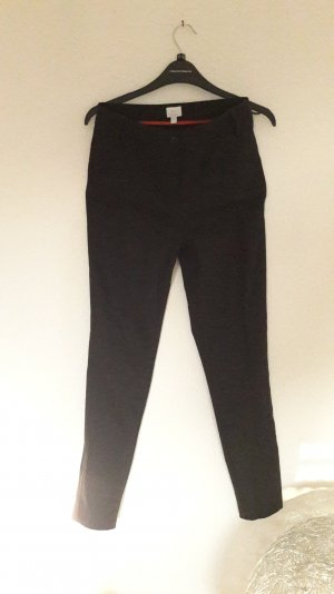 Alba Moda Hose Skinny Slim Fit Röhre Schwarz Bleistift Pencil Sexy Business 36