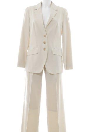 Alba Moda Tailleur-pantalon jaune clair style d'affaires