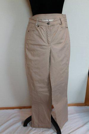 Alba Moda Stretch jeans lichtgeel-goud Katoen