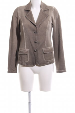 Alba Moda Blazer en jersey bronze style décontracté