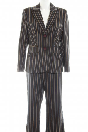 Alba Moda Ladies' Suit striped pattern business style