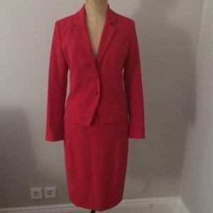 Alba Moda Ladies' Suit brick red