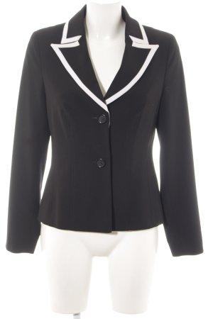 Alba Moda Blazer corto nero-bianco stile professionale