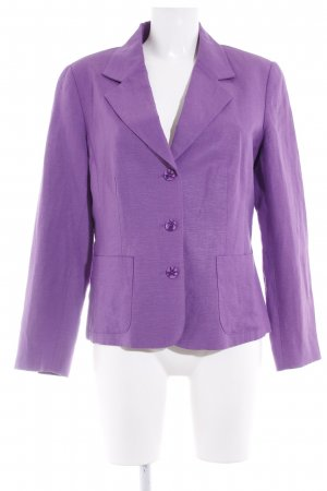 Alba Moda Kurz-Blazer lila Business-Look